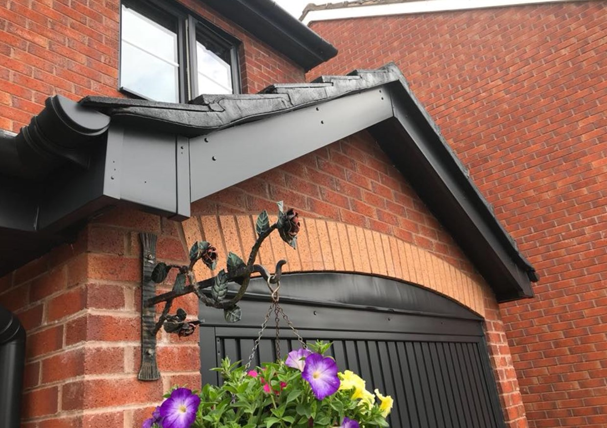Fascia that Spray UPVC has completely transformed
