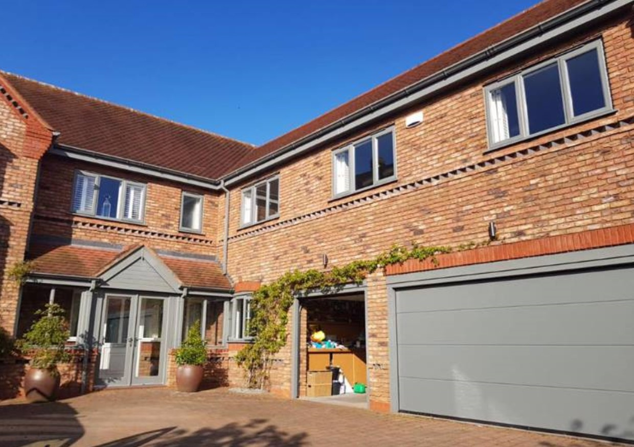 An image of a house where Spray UPVC have used their respraying services