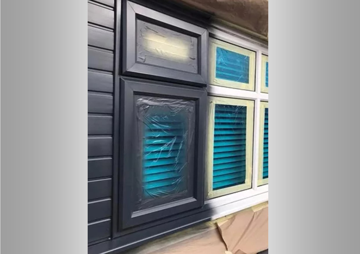 A window that Spray UPVC have resprayed to provide quality and value